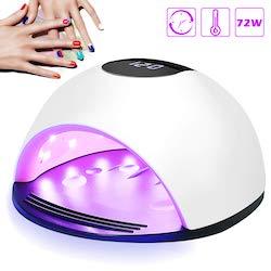 lampada UV unghie 72W