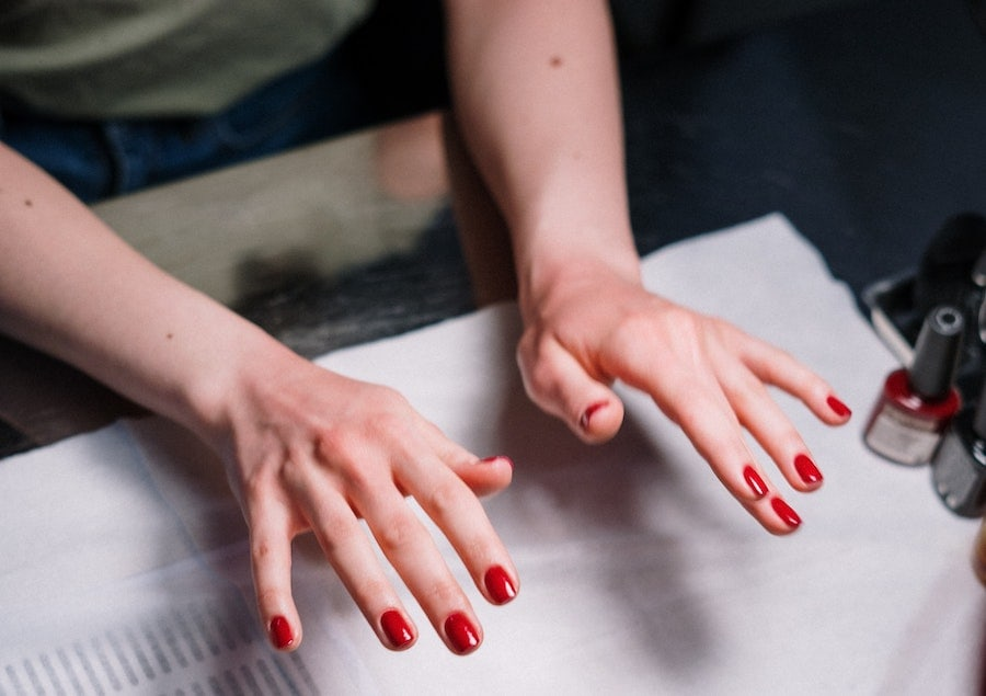 manicure permanente a casa